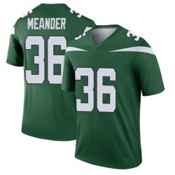 Legend Youth Montrel Meander New York Jets Nike Player Jersey - Gotham Green