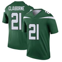 Legend Youth Morris Claiborne New York Jets Nike Player Jersey - Gotham Green