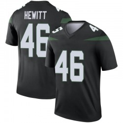 Legend Youth Neville Hewitt New York Jets Nike Color Rush Jersey - Stealth Black