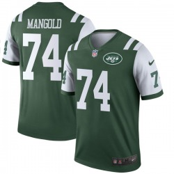 Legend Youth Nick Mangold New York Jets Nike Jersey - Green