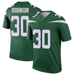 Legend Youth Rashard Robinson New York Jets Nike Player Jersey - Gotham Green