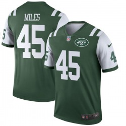 Legend Youth Rontez Miles New York Jets Nike Jersey - Green