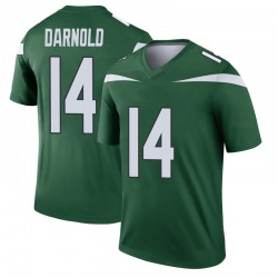 Legend Youth Sam Darnold New York Jets Nike Player Jersey - Gotham Green