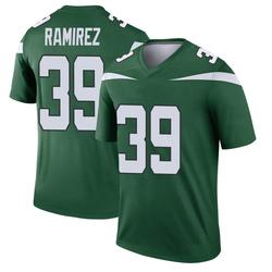 Legend Youth Santos Ramirez New York Jets Nike Player Jersey - Gotham Green