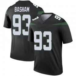 Legend Youth Tarell Basham New York Jets Nike Color Rush Jersey - Stealth Black