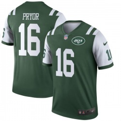 Legend Youth Terrelle Pryor New York Jets Nike Jersey - Green