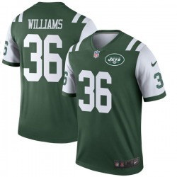 Legend Youth Terry Williams New York Jets Nike Jersey - Green