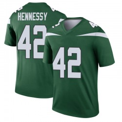 Legend Youth Thomas Hennessy New York Jets Nike Player Jersey - Gotham Green