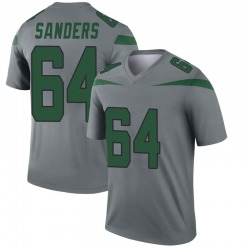Legend Youth Trevon Sanders New York Jets Nike Inverted Jersey - Gray