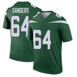 Legend Youth Trevon Sanders New York Jets Nike Player Jersey - Gotham Green
