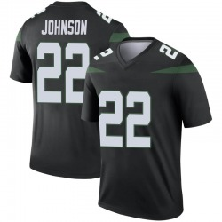 Legend Youth Trumaine Johnson New York Jets Nike Color Rush Jersey - Stealth Black