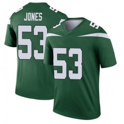 Legend Youth Tyler Jones New York Jets Nike Player Jersey - Gotham Green