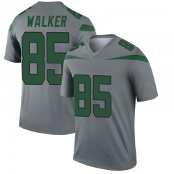Legend Youth Wesley Walker New York Jets Nike Inverted Jersey - Gray