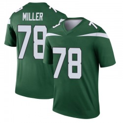 Legend Youth Wyatt Miller New York Jets Nike Player Jersey - Gotham Green