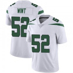 Limited Men's Anthony Wint New York Jets Nike Vapor Jersey - Spotlight White