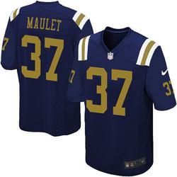 Limited Men's Arthur Maulet New York Jets Nike Alternate Vapor Untouchable Jersey - Navy Blue