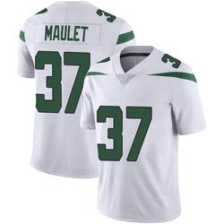 Limited Men's Arthur Maulet New York Jets Nike Vapor Jersey - Spotlight White