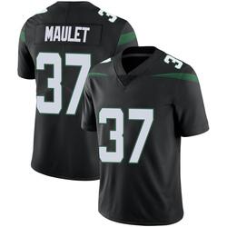 Limited Men's Arthur Maulet New York Jets Nike Vapor Jersey - Stealth Black