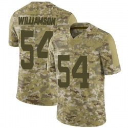 Limited Men's Avery Williamson New York Jets Nike 2018 Salute to Service Jersey - Camo
