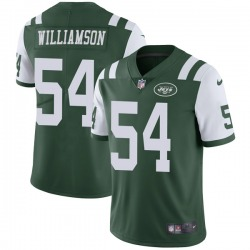 Limited Men's Avery Williamson New York Jets Nike Team Color Vapor Untouchable Jersey - Green