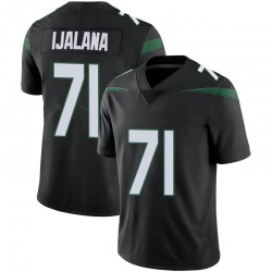 Limited Men's Ben Ijalana New York Jets Nike Vapor Jersey - Stealth Black