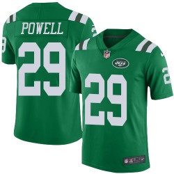 Limited Men's Bilal Powell New York Jets Nike Color Rush Jersey - Green