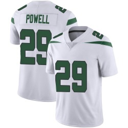 Limited Men's Bilal Powell New York Jets Nike Vapor Jersey - Spotlight White