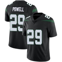 Limited Men's Bilal Powell New York Jets Nike Vapor Jersey - Stealth Black