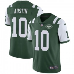 Limited Men's Blessuan Austin New York Jets Nike Team Color Vapor Untouchable Jersey - Green
