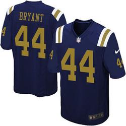 Limited Men's Brandon Bryant New York Jets Nike Alternate Vapor Untouchable Jersey - Navy Blue
