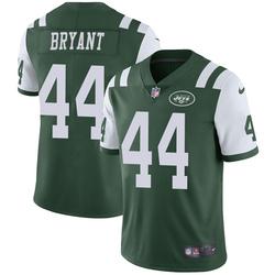 Limited Men's Brandon Bryant New York Jets Nike Team Color Vapor Untouchable Jersey - Green