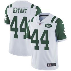 Limited Men's Brandon Bryant New York Jets Nike Vapor Untouchable Jersey - White