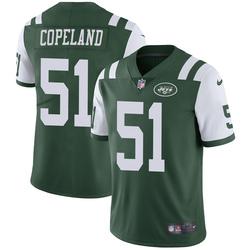 Limited Men's Brandon Copeland New York Jets Nike Team Color Vapor Untouchable Jersey - Green