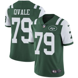 Limited Men's Brent Qvale New York Jets Nike Team Color Jersey - Green