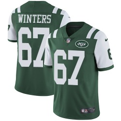 Limited Men's Brian Winters New York Jets Nike Team Color Jersey - Green