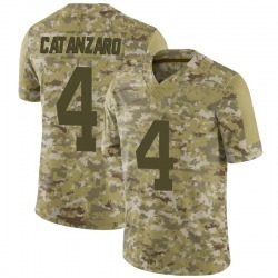 Limited Men's Chandler Catanzaro New York Jets Nike 2018 Salute to Service Jersey - Camo