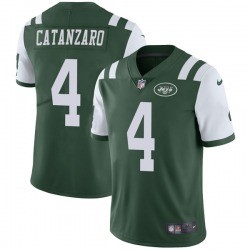 Limited Men's Chandler Catanzaro New York Jets Nike Team Color Vapor Untouchable Jersey - Green