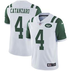 Limited Men's Chandler Catanzaro New York Jets Nike Vapor Untouchable Jersey - White