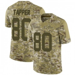 Limited Men's Charles Tapper New York Jets Nike 2018 Salute to Service Jersey - Camo