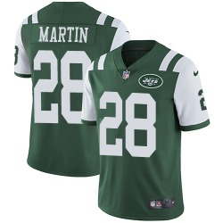 Limited Men's Curtis Martin New York Jets Nike Team Color Jersey - Green