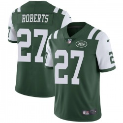 Limited Men's Darryl Roberts New York Jets Nike Team Color Vapor Untouchable Jersey - Green