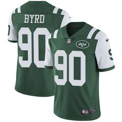 Limited Men's Dennis Byrd New York Jets Nike Team Color Jersey - Green