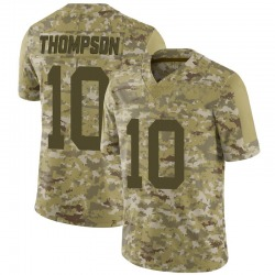 Limited Men's Deonte Thompson New York Jets Nike 2018 Salute to Service Jersey - Camo