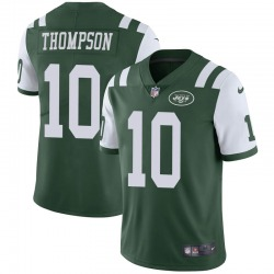 Limited Men's Deonte Thompson New York Jets Nike Team Color Vapor Untouchable Jersey - Green
