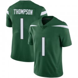 Limited Men's Deonte Thompson New York Jets Nike Vapor Jersey - Gotham Green