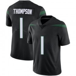 Limited Men's Deonte Thompson New York Jets Nike Vapor Jersey - Stealth Black