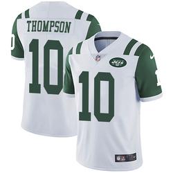 Limited Men's Deonte Thompson New York Jets Nike Vapor Untouchable Jersey - White