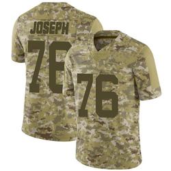 Limited Men's Dieugot Joseph New York Jets Nike 2018 Salute to Service Jersey - Camo