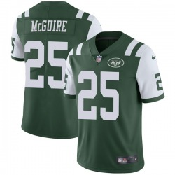 Limited Men's Elijah McGuire New York Jets Nike Team Color Vapor Untouchable Jersey - Green