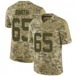 Limited Men's Eric Smith New York Jets Nike 2018 Salute to Service Jersey - Camo